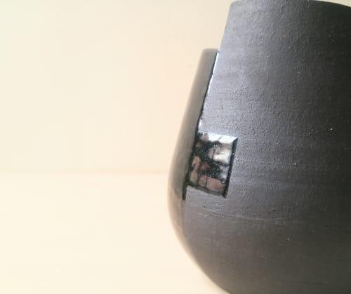 Vases & Vessels by KRceramics seen at Creator's Studio, New York - NN Placas Vase