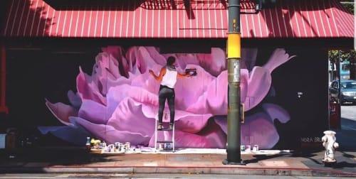 Nora Bruhn (Konorebi) - Murals and Street Murals