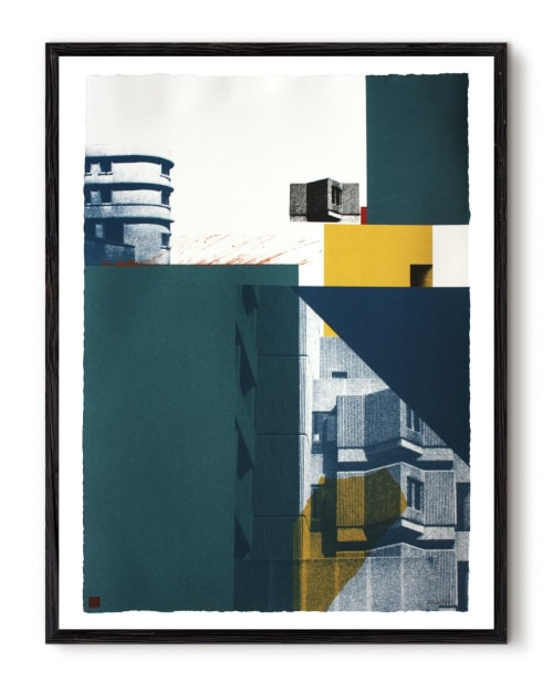 Paintings by Angus Vasili seen at Private Residence, London - Forms 1