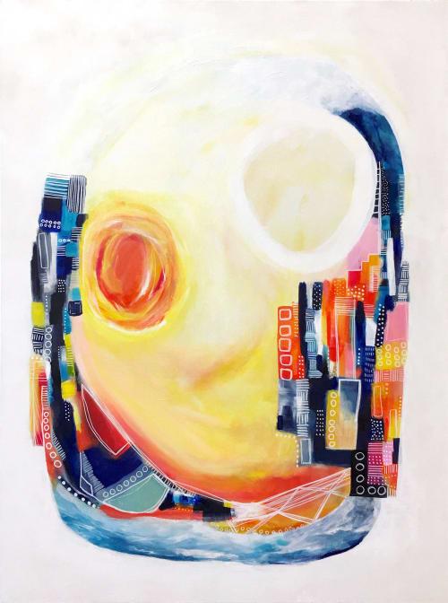 Paintings by Melanie Biehle seen at Seattle, Seattle - Salt Water Taffy