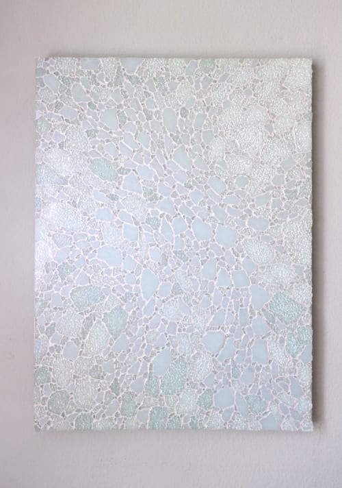 Wall Hangings by Chieko Shimizu Fujioka seen at Creator's Studio, Santa Clara - Matataki