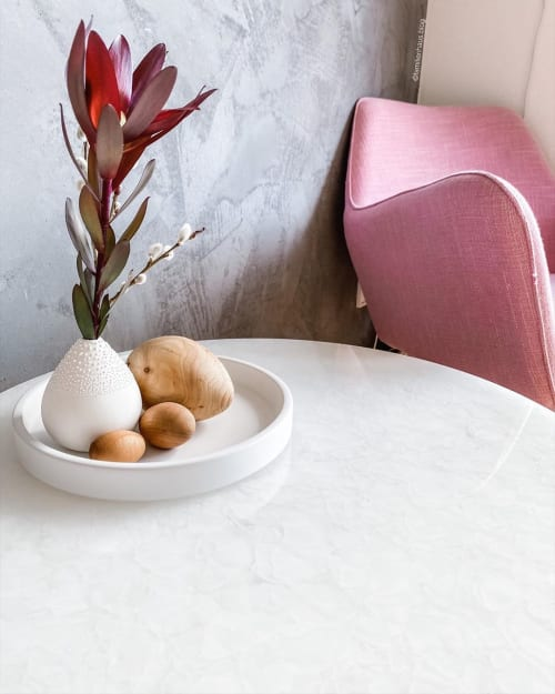 Tables by MAGNA Glaskeramik seen at Kristina Tereza's Home - Denver Coffee Table