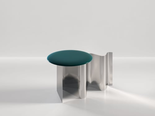Tables by SECOLO seen at Creator's Studio, Milan - Sketch Side Table