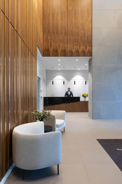 Interior Design by BYU Design seen at The Amazing Brentwood Presentation Center, Burnaby - The Amazing Brentwood Tower 1