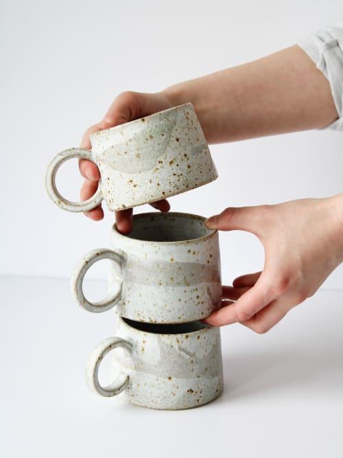 Cups by aku ceramics seen at Private Residence, Edinburgh - aku mug