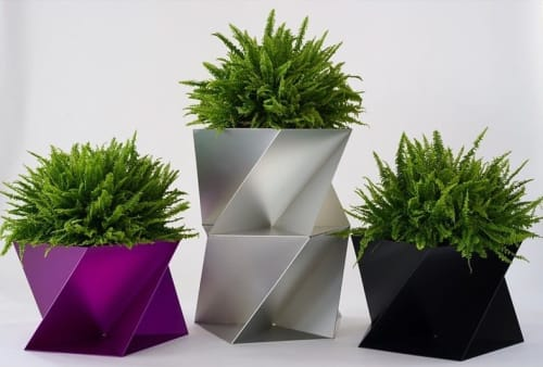 Vases & Vessels by Trey Jones Studio at Inside/Out - The Vale Park, Brooklyn - Pentagon Origami Planter