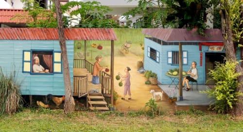 Yip Yew Chong - Art and Street Murals