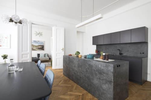 Interior Design by destilat Design Studio GmbH seen at Private Residence, Vienna - Apartment B