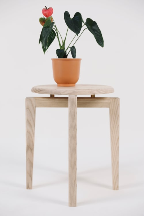 Chairs by Lahoma seen at Bay Area Made x Wescover 2019 Design Showcase, Alameda - Stool