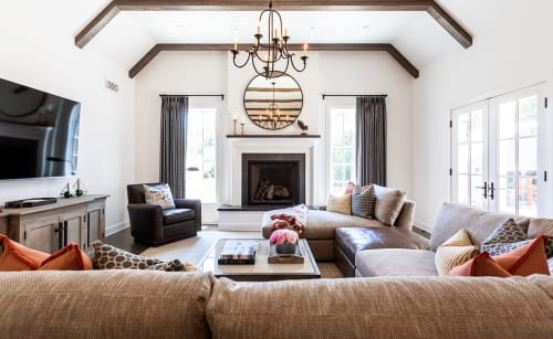 Interior Design by Courtney Thomas Design seen at Private Residence, La Cañada Flintridge - Altadena Modern Farmhouse