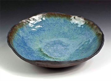 Tableware by BlackTree Studio Pottery & The Potter's Wife seen at Private Residence, Paonia - Grand Bowl for Serving