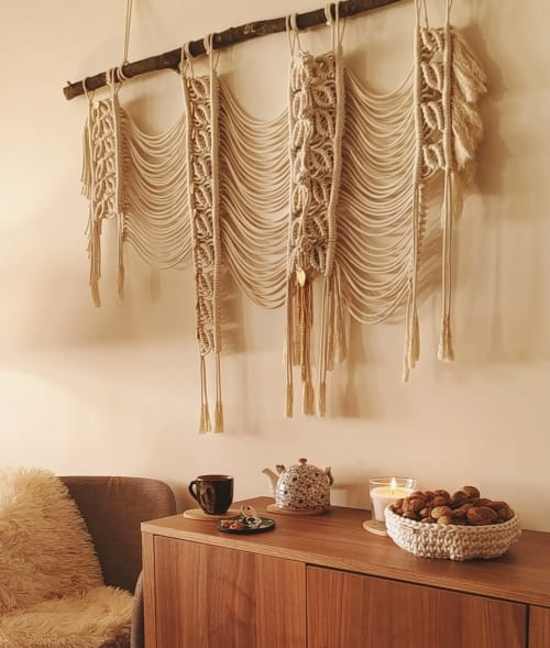 Macrame Wall Hanging by Endlessly Design seen at Private Residence, Braga - Cinnamon Love