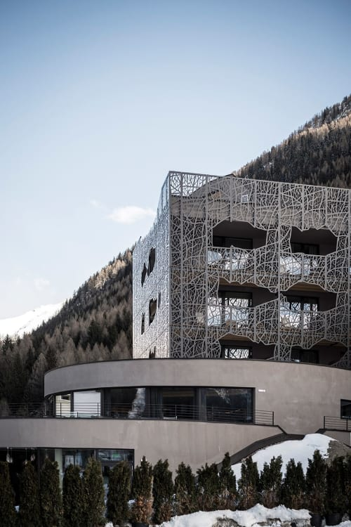 Architecture by noa* network of architecture seen at SILENA, the soulful hotel, Vals - Silena: Magic in the moor