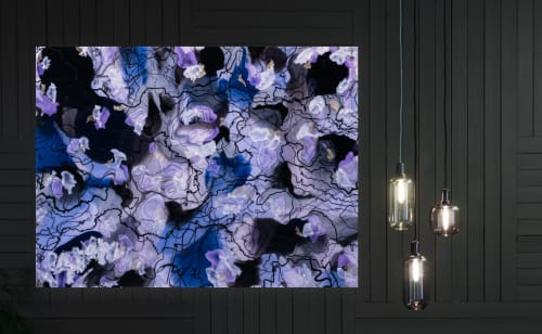 Paintings by Christina Twomey Art + Design seen at Los Angeles Area, Los Angeles - ORCHID II