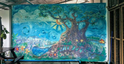 Careth Christine - Street Murals and Murals