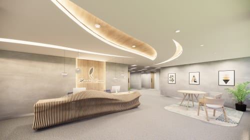 Interior Design by Studio Hiyaku seen at Nature's Care Pro Series, Belrose - Natures Care Office