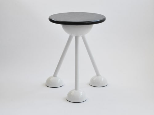 Tables by Connor Holland seen at WeWork 333 Seymour St, Vancouver - Saturn Tripod
