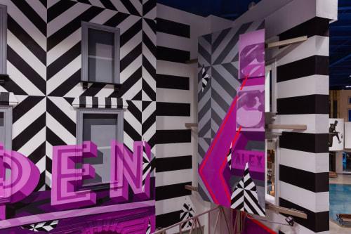 Murals by TRAV seen at 32100 S Las Vegas Blvd, Jean - Now Open