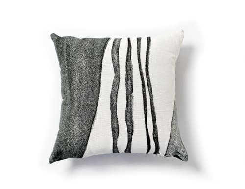 """Pillows by K'era Morgan seen at Creator's Studio, Los Angeles - """"Tributary"""" Throw Pillow Cover"""