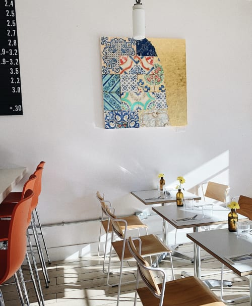 Paintings by Salvatore Battaglia seen at Private Residence, Canberra - Maioliche Vecchie