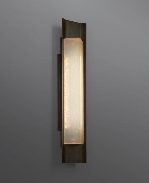 Sconces by McEwen Lighting Studio seen at De Sousa Hughes LLC, San Francisco - Argo Wall