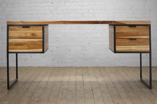 Sawyer Solid Wood Desk | Tables by From the Source
