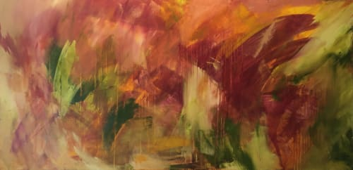 Paintings by Jen Sterling seen at Creator's Studio, Annapolis - Cardinal Rule