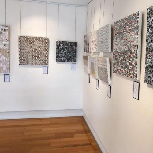 Paintings by Mairi Ward seen at Handmark Gallery Evandale, Evandale - Mairi Ward