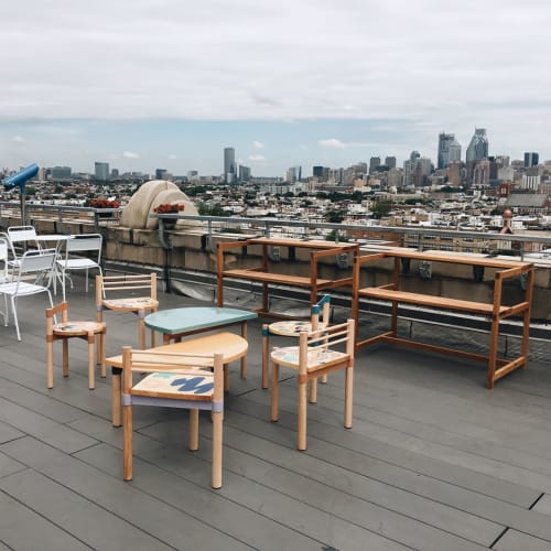 Furniture by Jeff Rubio seen at Bok Bar, Philadelphia - Bespoke Furnitures