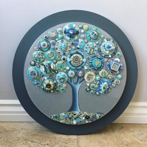 "Art & Wall Decor by Cami Levin seen at Creator's Studio, Dana Point - Tree of Love - ""Coastal Vision"""