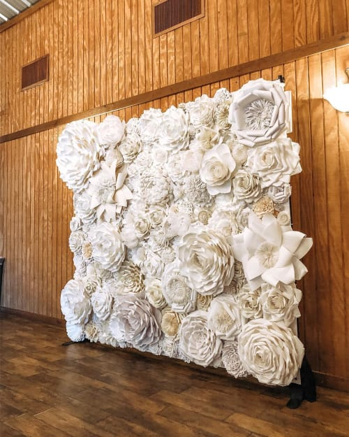 Art & Wall Decor by My Sparkled Life seen at Ashelynn Manor, Magnolia - Paper Flower Back-draft