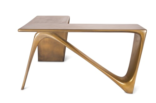 Tables by Amorph seen at Private Residence, Los Angeles - Ava Table