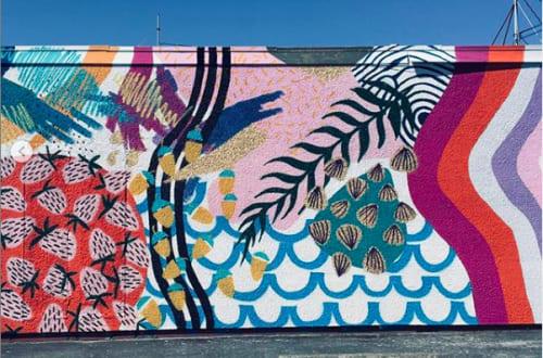 Murals by Lina Cholewinski seen at Oak Harbor, Oak Harbor - Oak Harbor