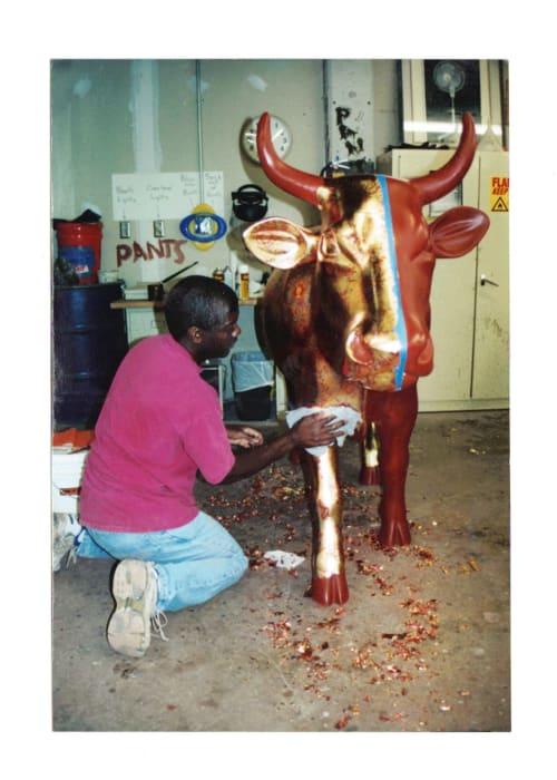 Public Sculptures by Garry Grant Studio seen at Atlanta, Atlanta - Cow Parade Atlanta 2003