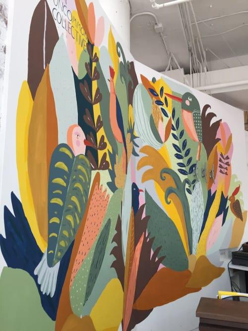 Murals by Elizabeth Graeber seen at Streetsense, Bethesda - Streetsense Mural