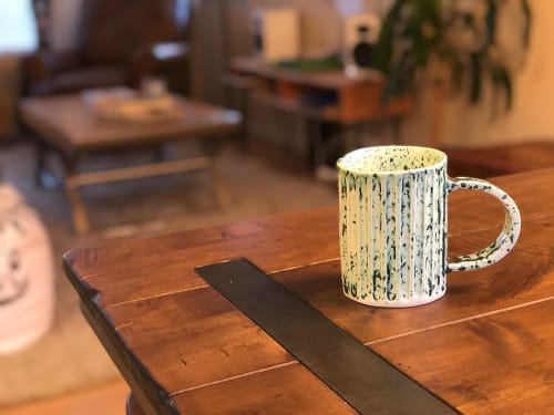 Cups by Bridget Dorr at The Coffee Ride, Boulder - Ceramic Cup