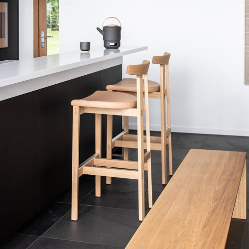 Chairs by Niels Bendtsen seen at Private Residence, Vancouver - Torii Counter Stools