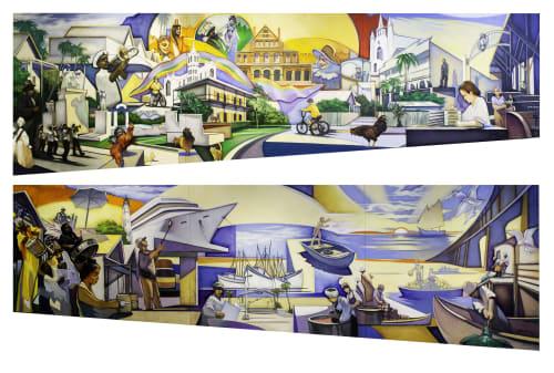 Ralph Gilbert - Murals and Art
