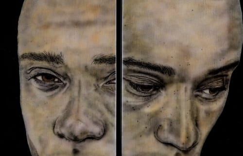 "Art & Wall Decor by Michael Janis seen at Creator's Studio, Mount Rainier - ""Intersectionality"""