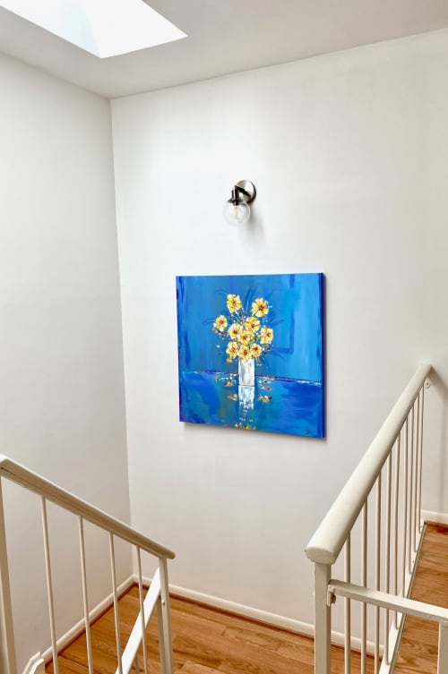 Paintings by Ravi Raman - RTunes68 seen at Private Residence - The Spring of Our Summer