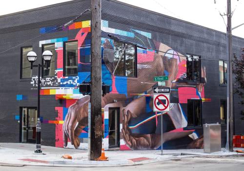 Murals by Taylor White seen at Ann Arbor, Ann Arbor - Clinc AI Mural