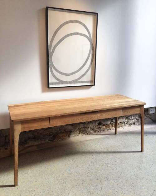 Tables by Stokperd seen at Private Residence, Cape Town - Nin Desk
