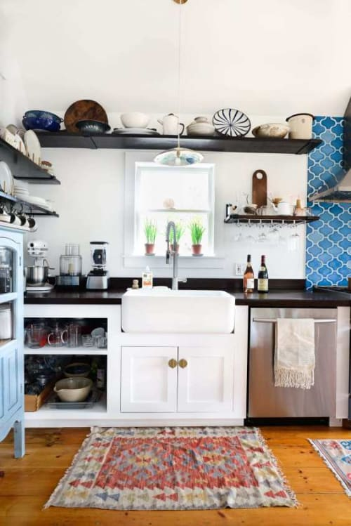 Water Fixtures by Rohl seen at Fare Isle's (Kaity's) Kitchen, Nantucket - Rohl RC3018WH FIRECLAY KITCHEN SINKS