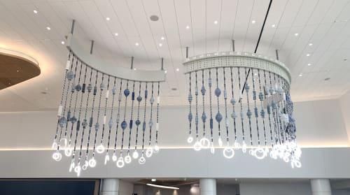 Wall Hangings by Dana Hemenway seen at Terminal 1, San Francisco - The Color of Horizons