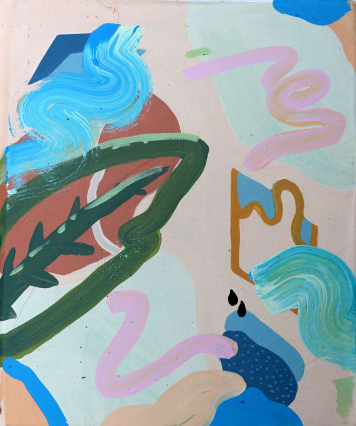 Paintings by Michael Black Art seen at Sydney, Sydney - Leaf At Dusk
