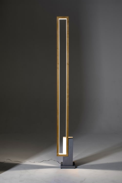 LT Mire Wood | Lamps by CINIER | Fuorisalone in Milano