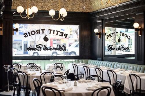 Petit Trois, Bars, Interior Design