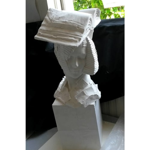 Bookworm | Sculptures by Kathy Dalwood | The House of St Barnabas in London