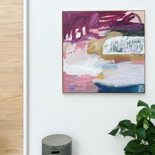 Paintings by Anna Price Art seen at Private Residence, Sydney - A range of abstract artworks by Anna Price
