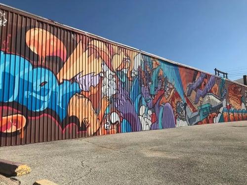 Joerael Numina - Murals and Street Murals